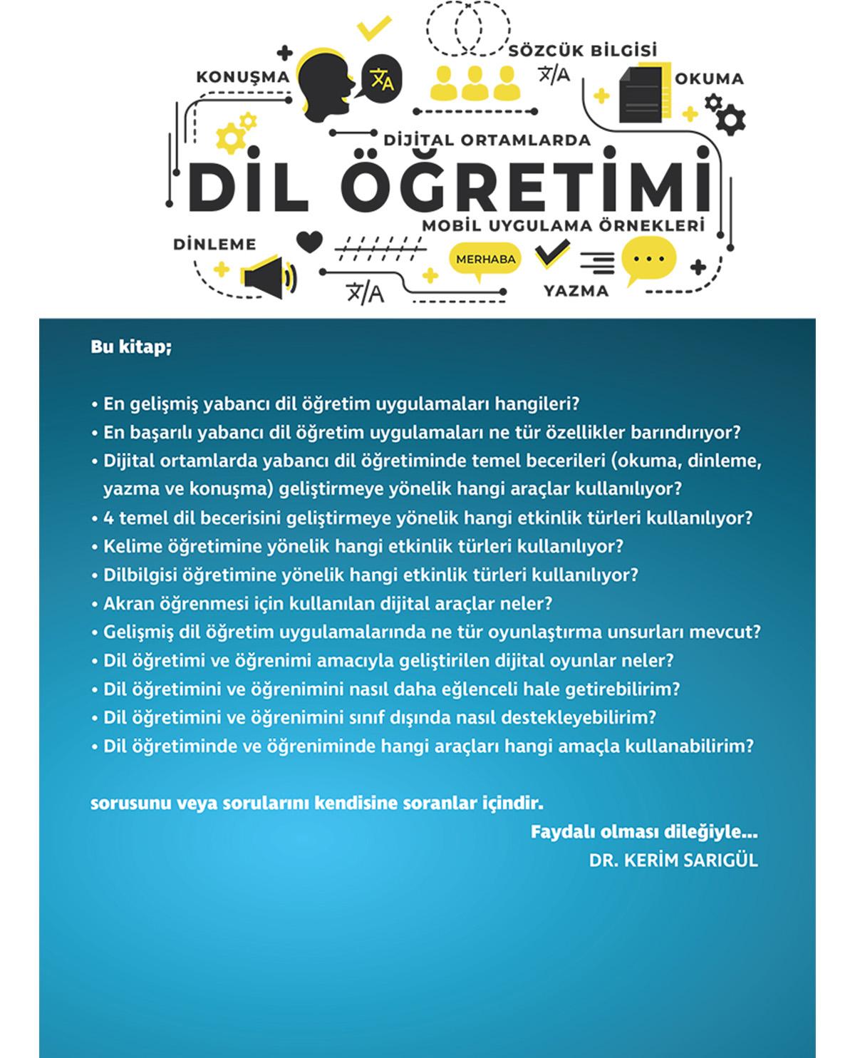 Dijital Ortamlarda Dil Öğretimi - Mobil Uygulama Örnekleri